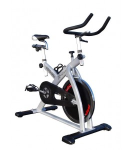 Speedbike Higol X Ciser zilver Indoor Cycling
