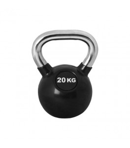 Kettlebell 20 kg Chrome Pro Workout