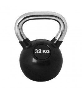 Kettlebell 32 kg Chrome Pro Workout