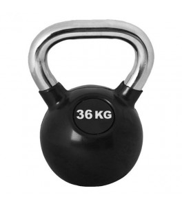 Kettlebell 36 kg Chrome Pro Workout
